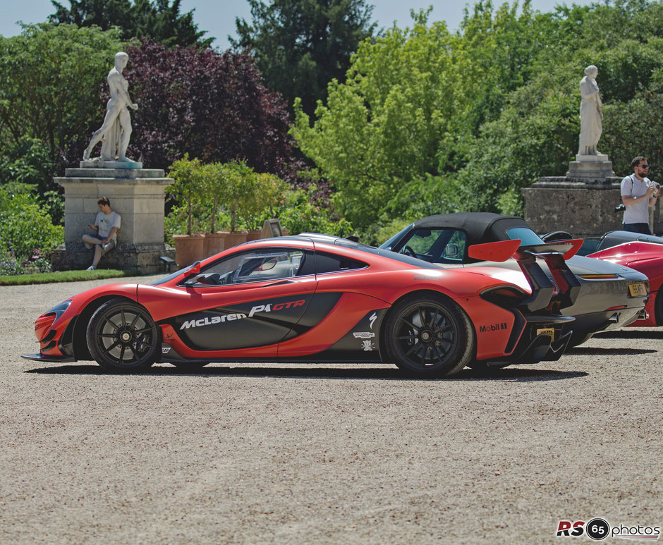 McLaren P1 GTR - Chantilly Arts & Elegance Richard Mille 2019