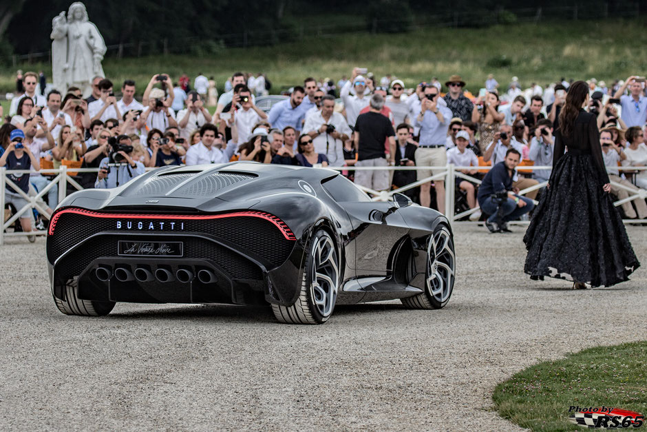 Bugatti La Voiture Noire - Chantilly Arts & Elegance Richard Mille 2019
