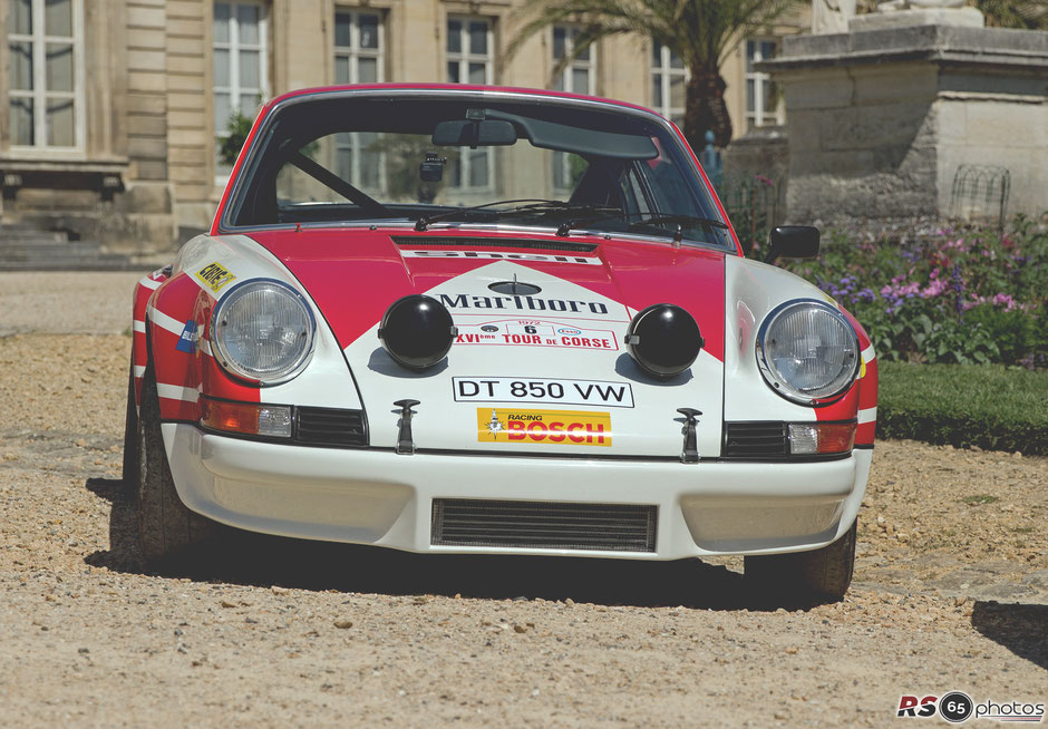 Porsche 911 Carrera RSR - Chantilly Arts & Elegance Richard Mille 2019