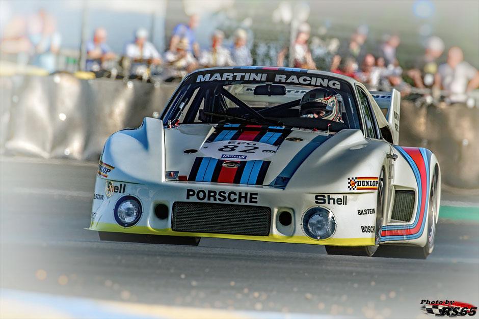 Porsche 935/77 - Plateau 6 - Romain Dumas - Le Mans Classic 2018