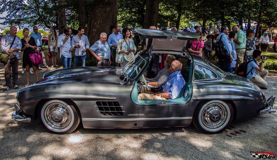 Mercedes-Benz 300 SL @Concorso D'Eleganza Villa D'Este