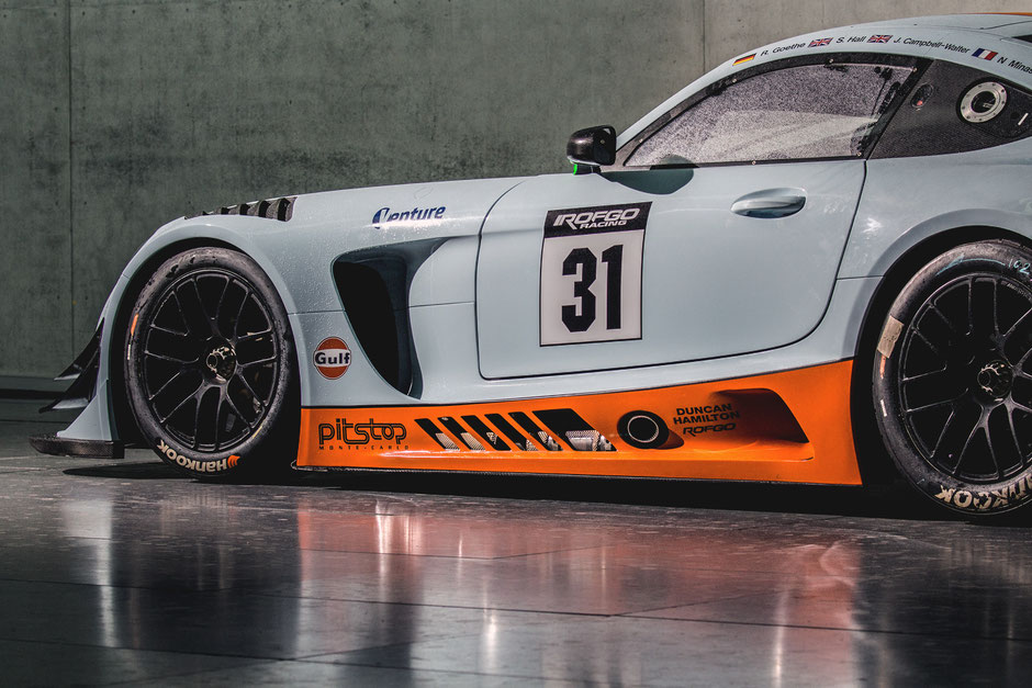 Mercedes AMG GT3 - ROFGO Gulf Heritage Collection