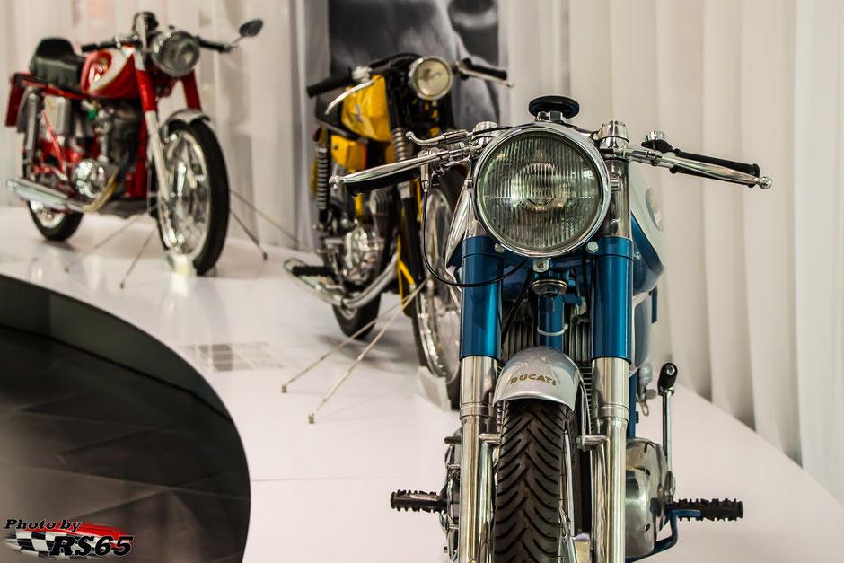 Passione Ducati im Audi museum mobile