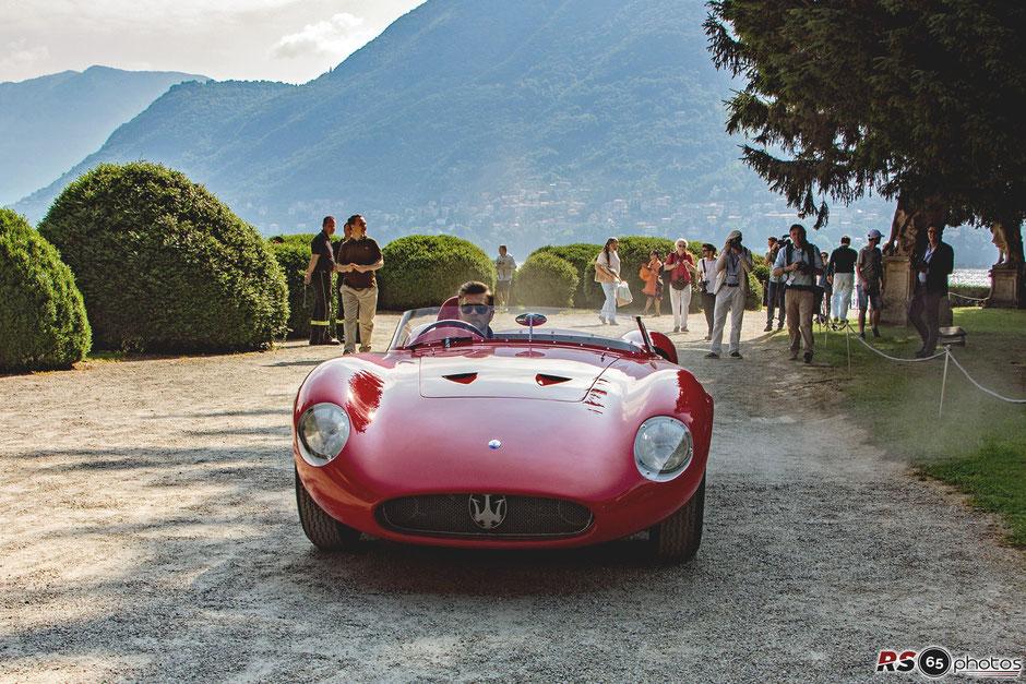 Maserati 300 S @Concorso D'Eleganza Villa D'Este