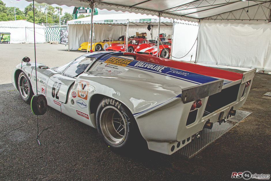 Lola T70 MK III B - Le Mans Classic 2018 - Plateau 5