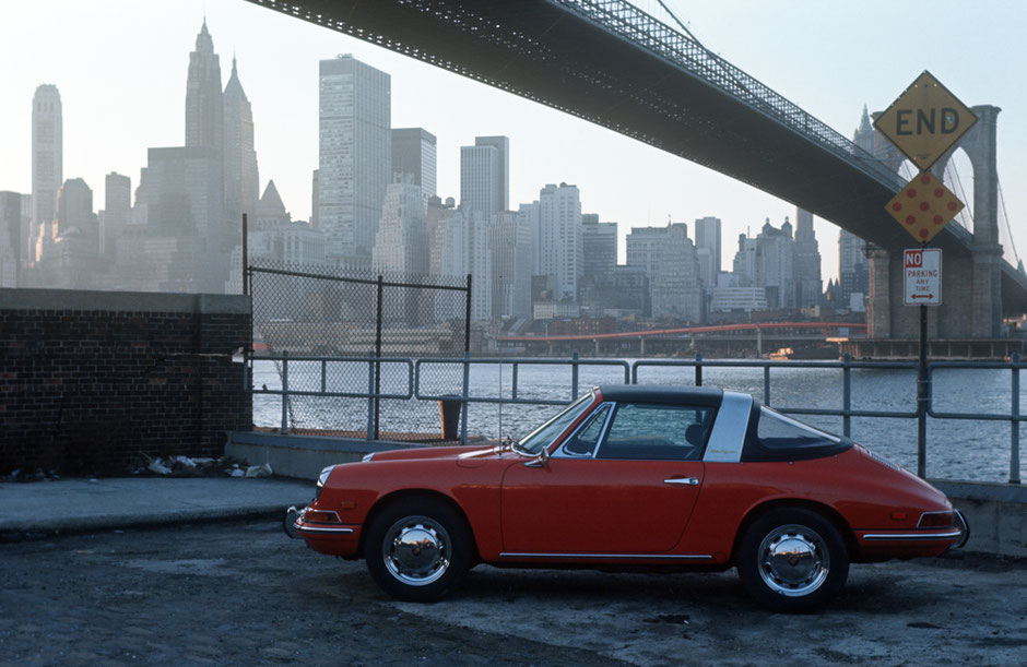 In New York 1967: 912 Targa Mj. 1968