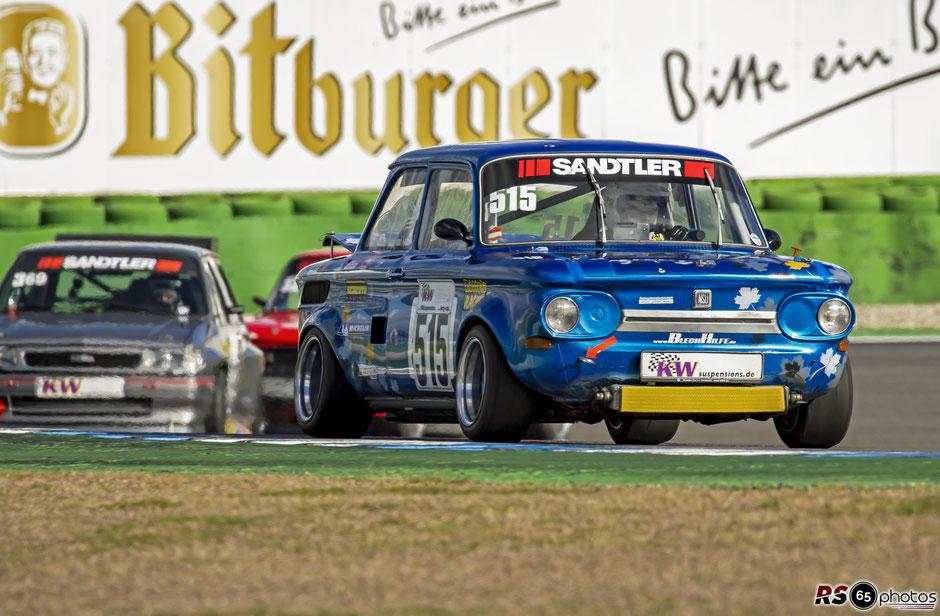 NSU TT - Uwe Schindler - KW Berg-Cup - Hockenheimring 2021