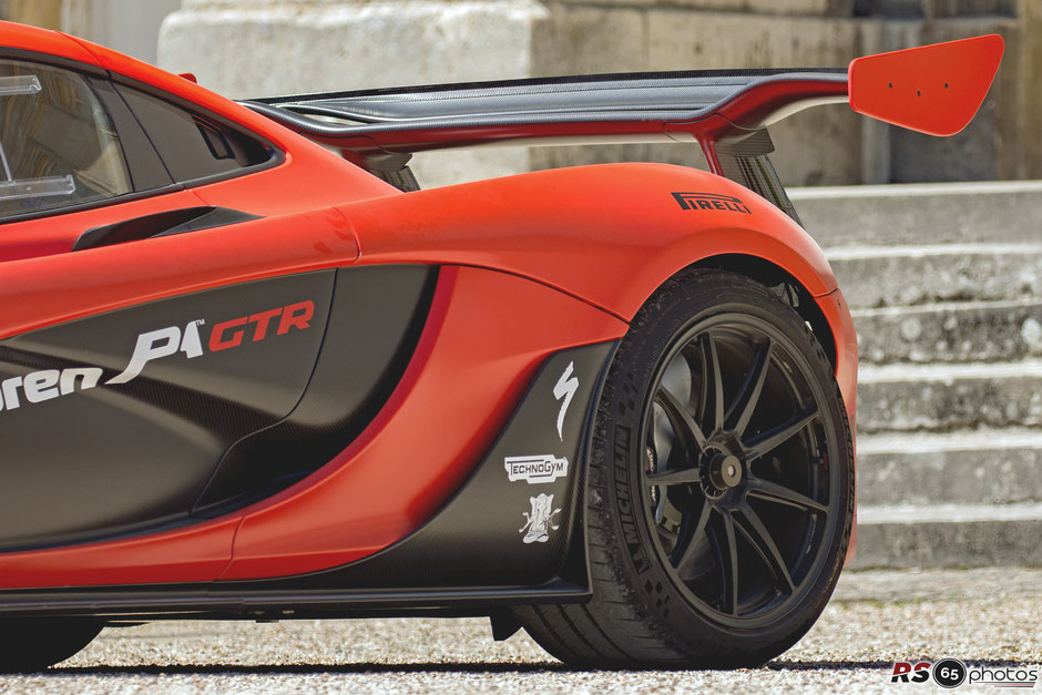 McLaren P1 GTR - Chantilly Arts & Elegance Richard Mille 2019
