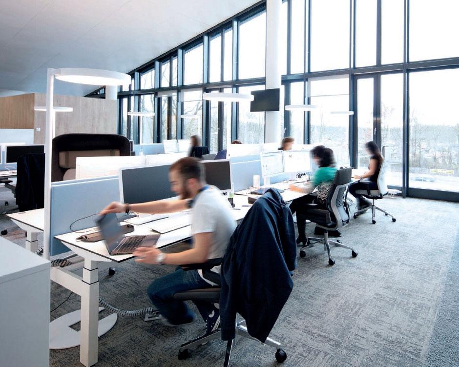 Bürostehleuchten www.leuchten-profi24.de