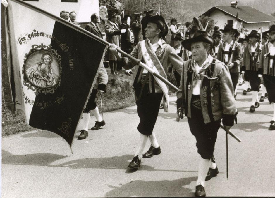 Bataillonsschützenfest und 75-Jahre-Feier der Schützenkompanie Schlaiten 1984