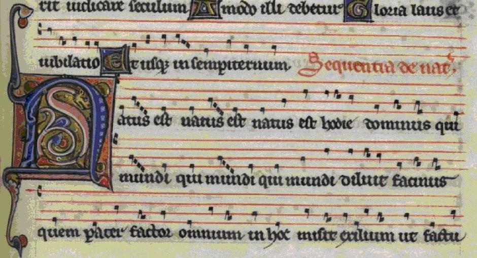 Graduel de Fontevraud folio 27