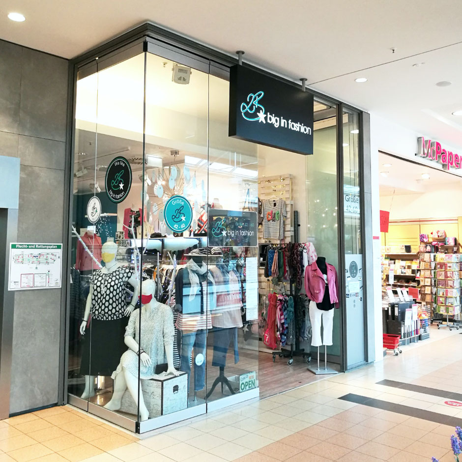 Ladenfront 2B big in fashion Citti-Park Kiel