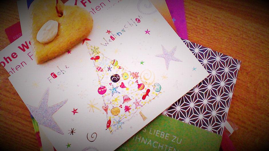 Weihnachtskarten und gute Wünsche - alles schon Schnee von gestern? Was können wir davon konkret realisieren? Warum warten?