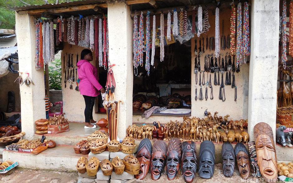 Souvenirs kopen in Zuid-Afrika bij lokale winkels