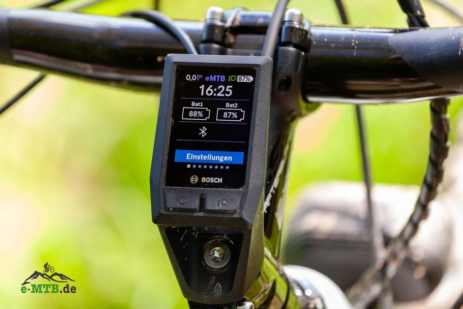 Bosch KIOX Einstellungen am e-Bike Display