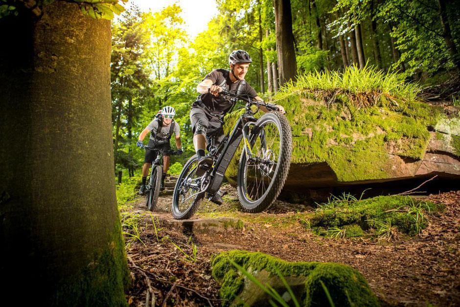 e-Mountainbikes von Hercules 2020