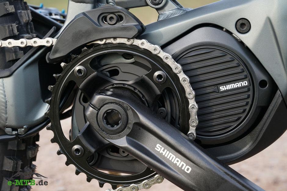 Die e-Bike Antriebe E8000 und E7000 sind für den Einsatz in e-Mountainbikes konzipiert.