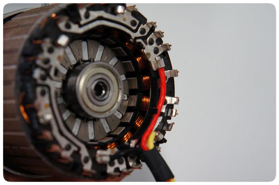 Produktionsschritt der Fertigung eines Bosch e-Bike Antriebs