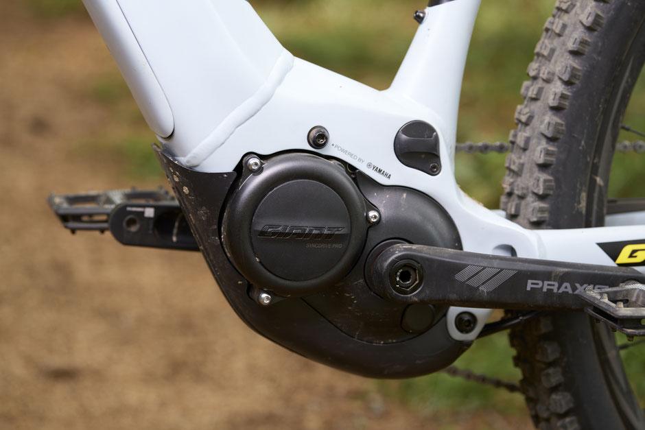 Die SyncDrive Motoren powered by Yamaha sind eine eigene Konfiguration von Giant und Liv.