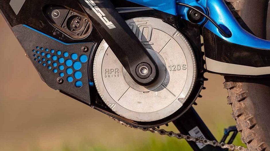 Der HPR 120S TQ Motor