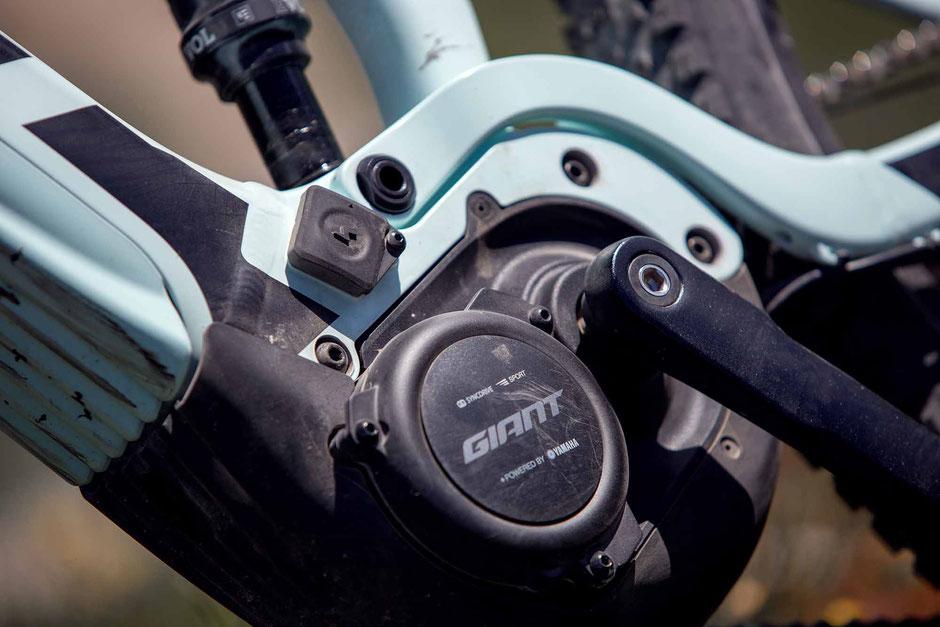 Der Sync Drive Pro e-Bike Antreib von Giant ist ein echter Motor für sportliche e-Mountainbiker