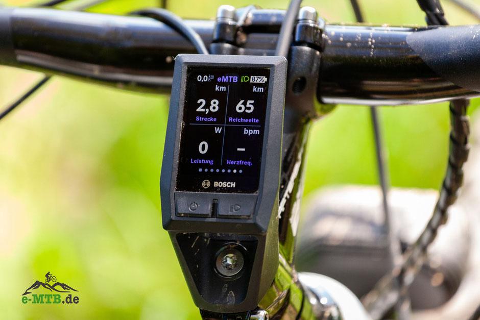 Bosch KIOX Bildschirmeinstellung