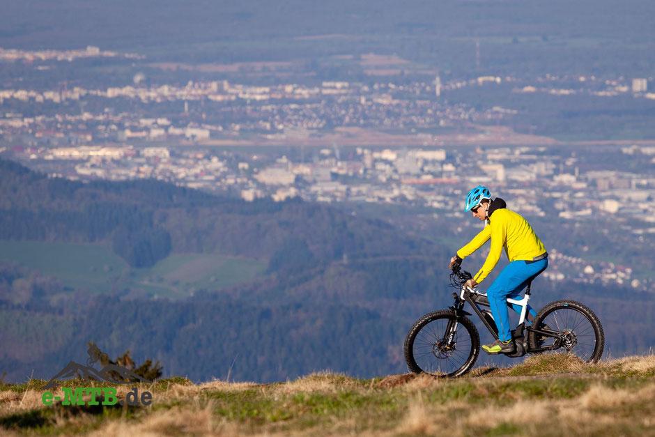 Delite mountain 2019 Höhenmetertest und Bike-Test