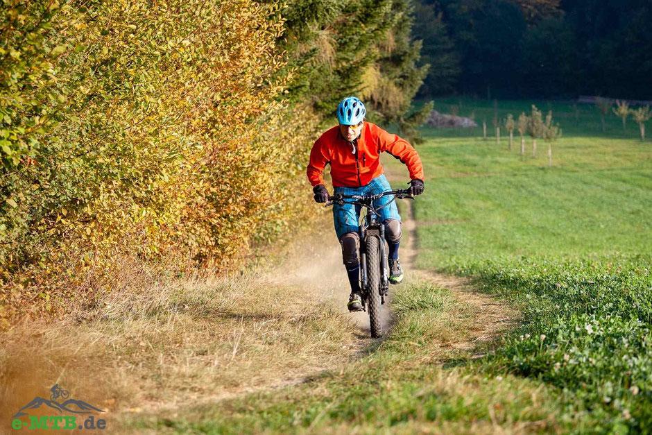 Der TQ HPR 120 S e-Mountainbike Antrieb gehört mit 120 Nm zu den stärksten auf dem Markt.
