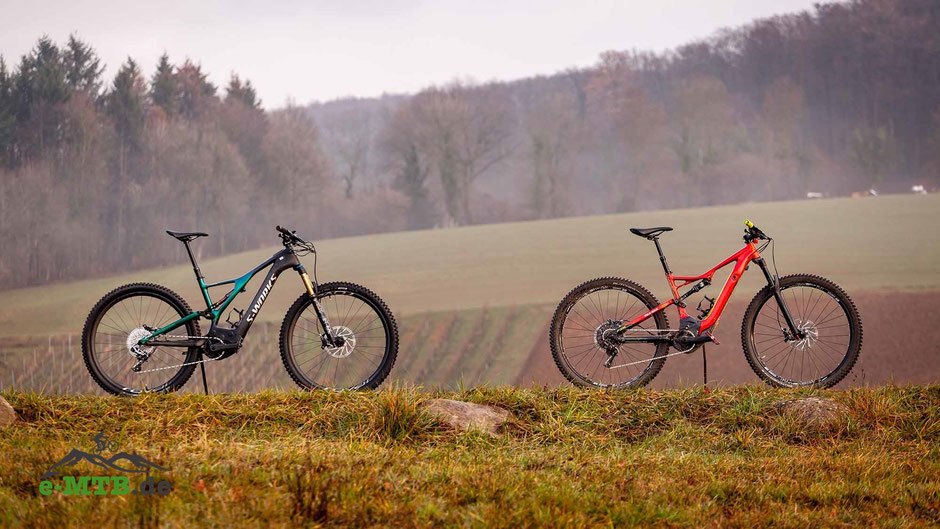 Das Specialized Turbo Levo FSR in der 1. und 2. Generation
