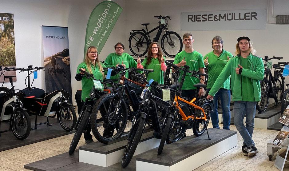 ausgezeichneter e-Mountainbike Händler in Ravensburg