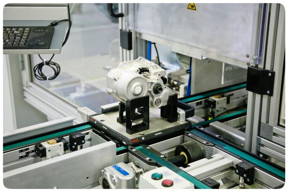Prüfung des fertiggestellten Bosch Performance Line e-MTB Motors