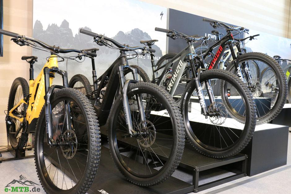 Die neuen Specialized e-Mountainbikes auf der Bikemesse
