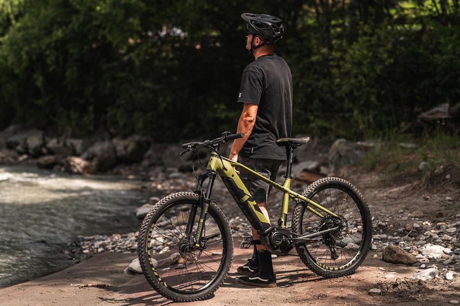 "27,5"" Reifen am R Raymon Hardray e-Seven 7.0 e-Mountainbike"
