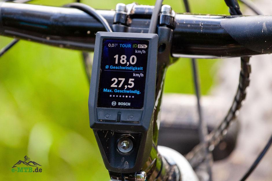 Bosch KIOX e-Bike Display Anzeige