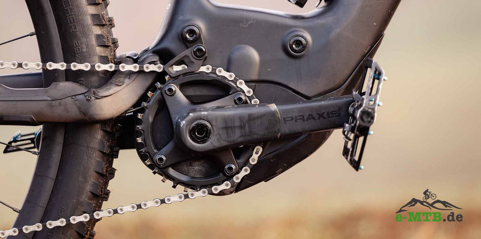 Specialized 2.1 RX trail-tuned e-Mountainbike Motor im Detail.