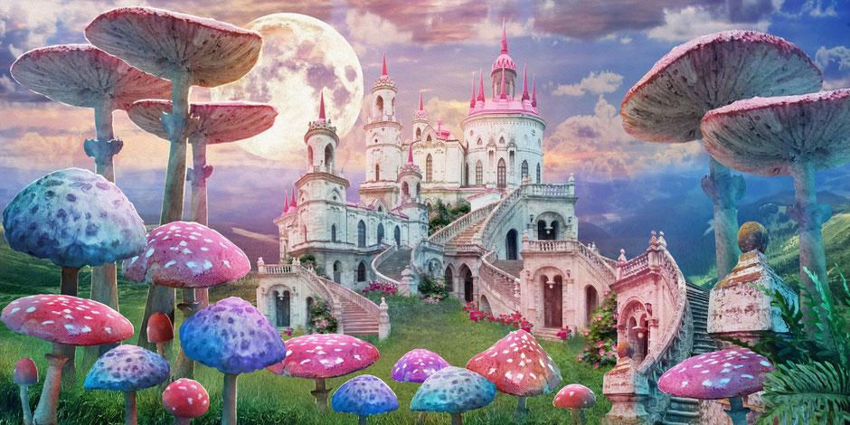 Das Bild zeigt eine bunte Welt: sie steht für unbegrenzte Möglichkeit der Vorstellungskraft.