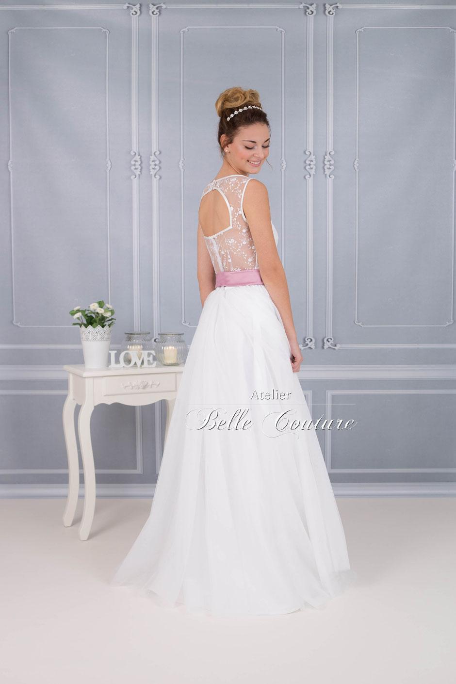 Bodenlanges Brautkleid im Vintage Stil schlicht - vintagebrauts ...