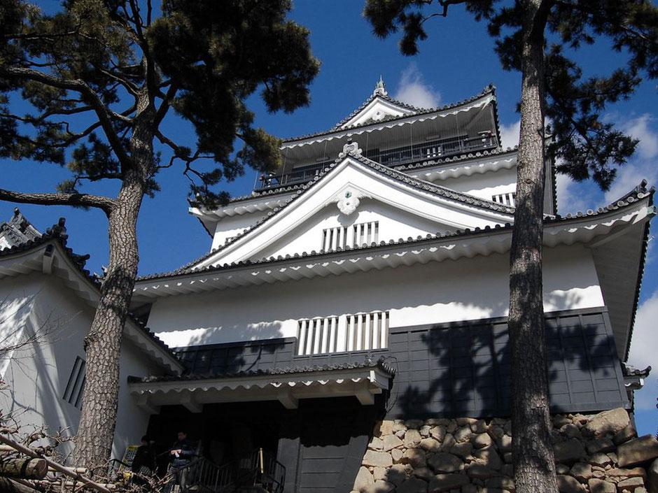 鉄筋コンクリートで再建された岡崎城の天守だが、一度は登っておきたい