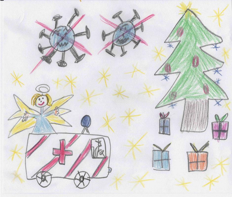 Weihnachtskarte von Jakob