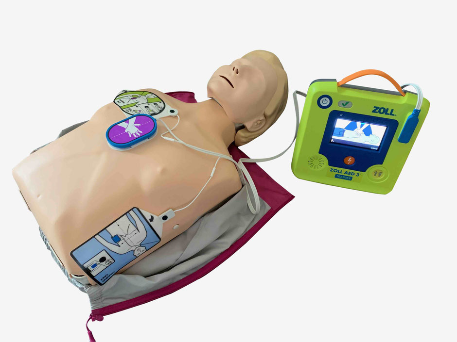 Little Anne QCPR + ZOLL AED 3 Trainer