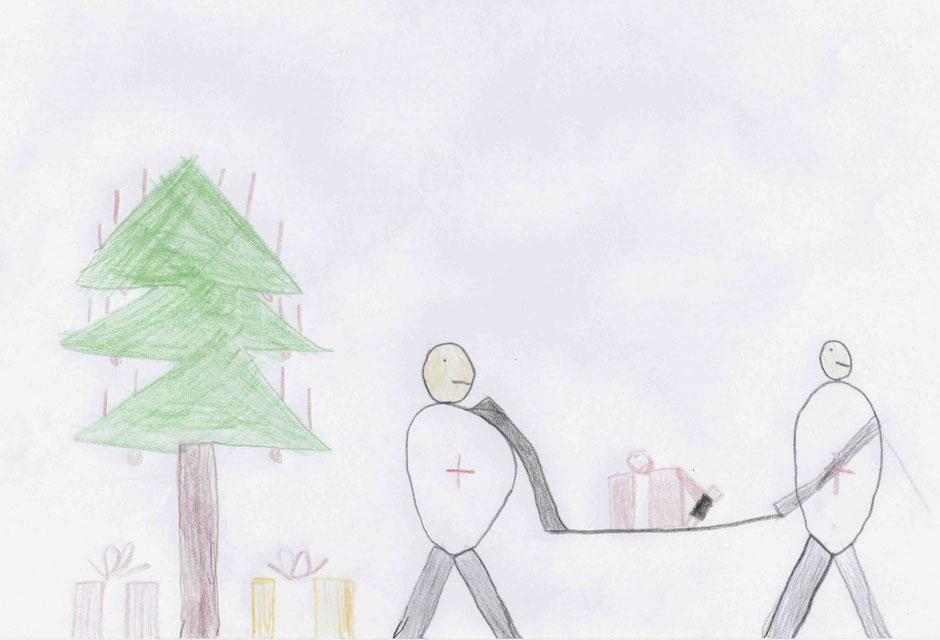 Weihnachtskarte von Florian