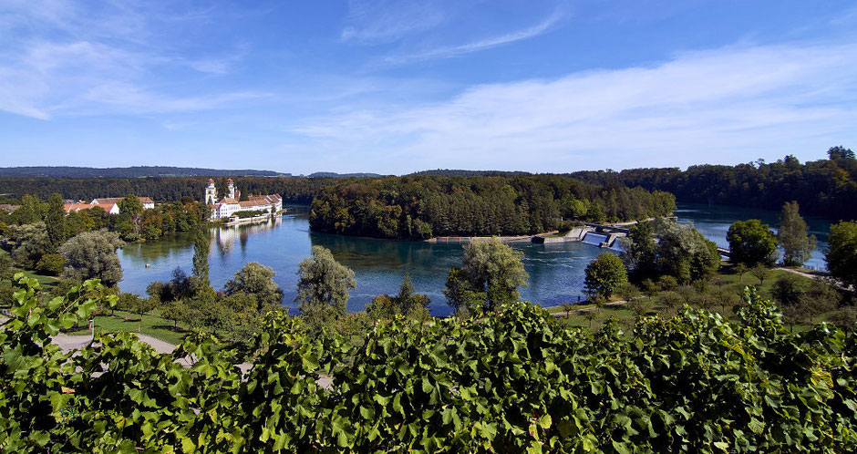 Blick auf die Klosterinsel, © Wikimedia Commons