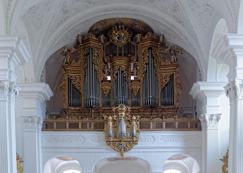 Johann Christoph Leu Orgel Rheinau