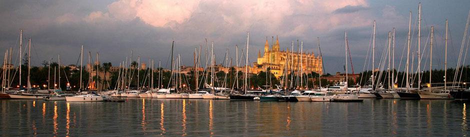 Mitsegeln Palma de Mallorca Kathetrale