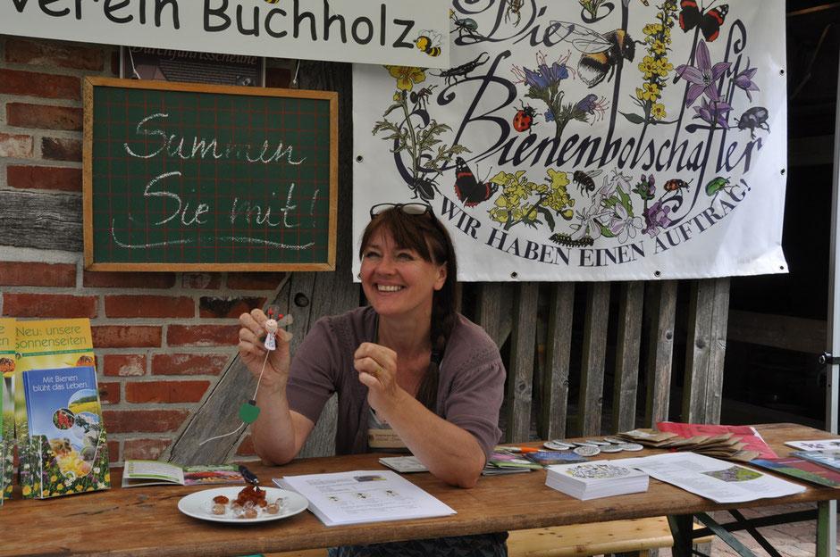 Spaß beim gelungenen Dorffest des Geschichts- und Museumsvereins Seppensen am 16.06.18  19.06.2018
