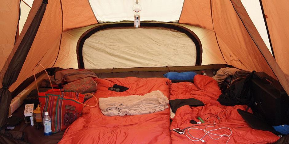 防災テント