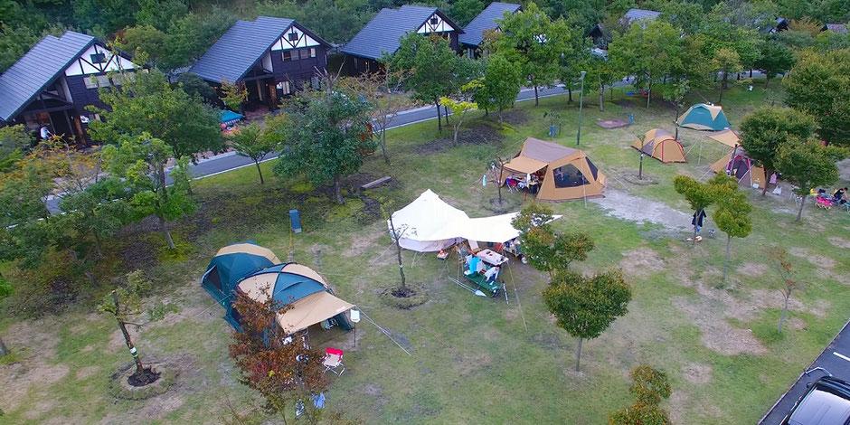 青川峡キャンピングパークオートキャンプ