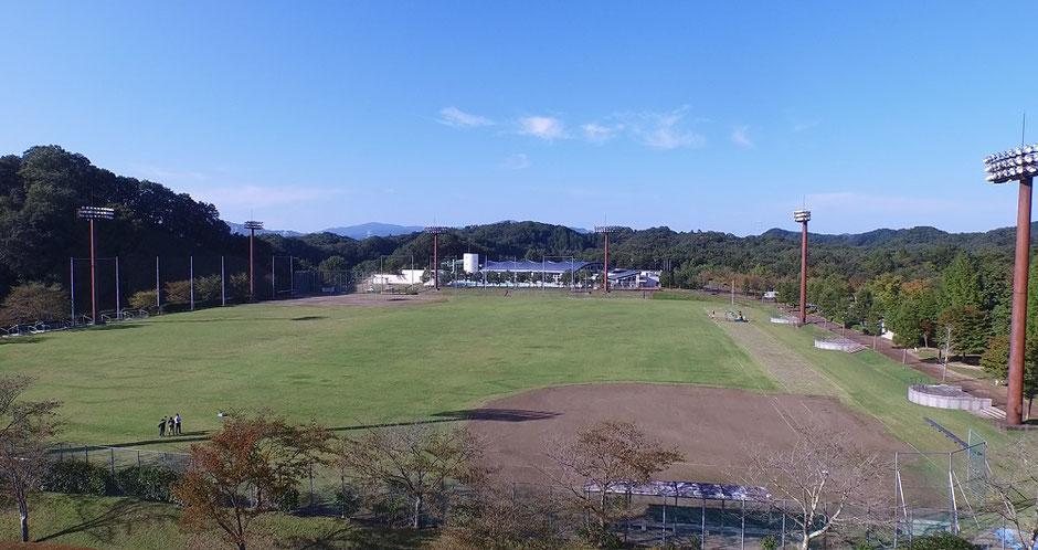 大子広域公園オートキャンプ場グラウンド