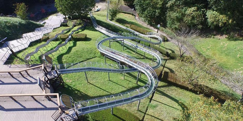大子広域公園オートキャンプ場アスレチック