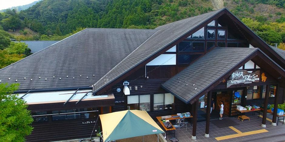 青川峡キャンピングパークセンターハウス